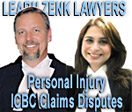 ICBC Personal Injury Claims  fr. car and motorcycle accidents lawyer