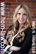 Ms. Misty Hillard, personal injury, brain injury, ICBC disputes Victoria lawyer